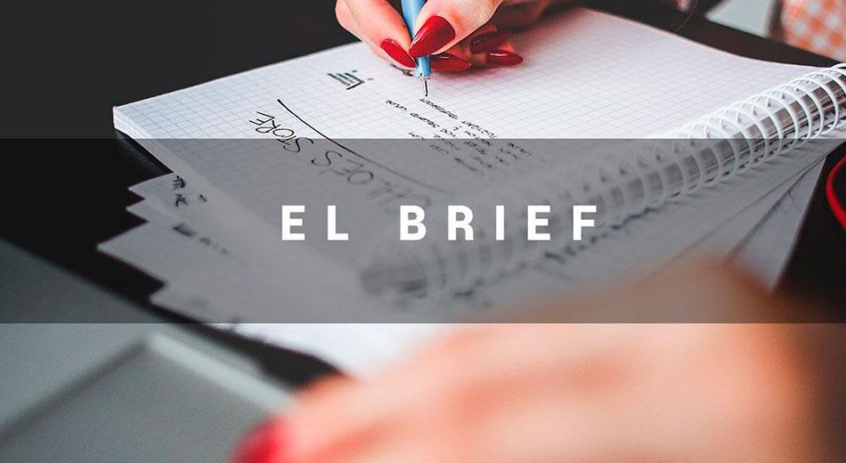 ¿Qué es un brief y que elementos debe contener?
